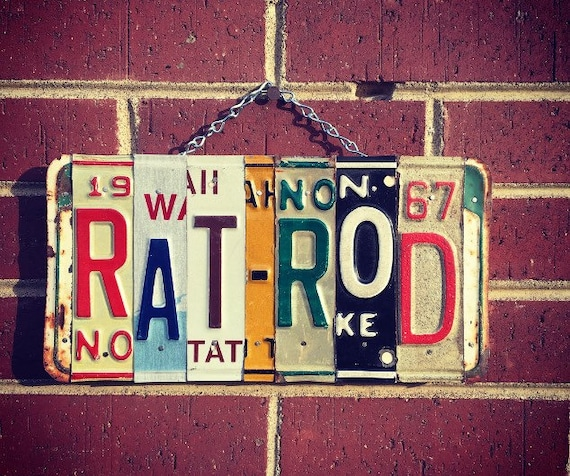 Rat Rod, Rat Rod Decor, Rat Rod Art, Fathers Day Gift, Gift for Men, Garage Decor, Car Decor, Car Stuff