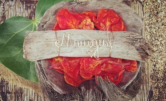 Maui Art, Maui Gifts, Maui Girl, Made in Hawaii, Maui Home Decor, Beach Gifts, Beach Decor, Gifts from Hawaii, Driftwood, Tropical Decor.