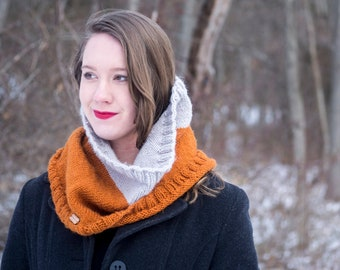 Knit Cowl  - Ready to Ship