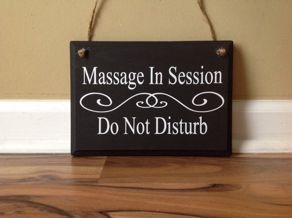 massage in session do not disturb closed do not enter in no etsy