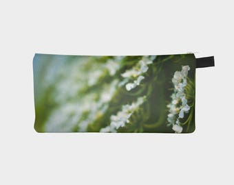 Nature Pencil Case, Pencil Pouch, Make Up Bag, Small Bag, Zipper Pouch, Flower Pencil Bag, Cosmetic Bag, Small Pouch Bag, Gift under 20