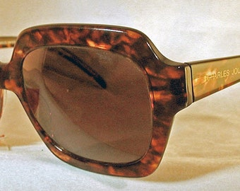 796ace2827f6 Vintage Charles Jourdan 1980's Hand Made in France Sun Glasses COSTA-RICA  9522 Salesperson Sample
