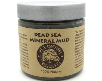 Dead Sea Mineral Mud removes toxins and impurities from the skin, tighten & tone the complexion, improves blood circulation, acne, spots ...