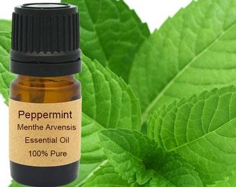 Peppermint Essential Oil  5 ml, 10 ml or 15 ml