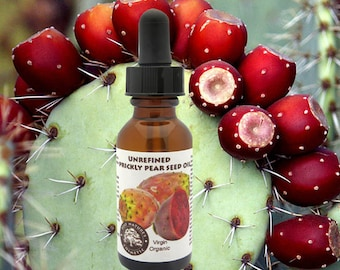 Virgin Prickly Pear Seed Oil Organic (cold pressed, unrefined)