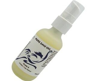 Pure Emu oil. Grade A. Fully Refined  60 ml / 2 oz
