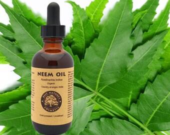 100% Pure Virgin Neem Oil (organic, undiluted, unrefined)