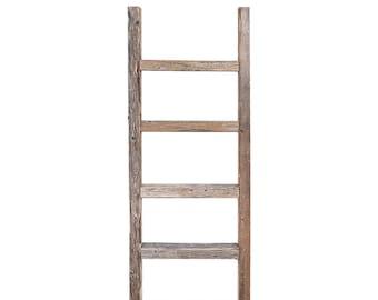 Rustic ladder shelf | Etsy