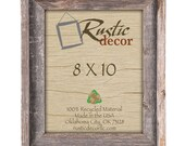 8x10 -2 quot wide Rustic Barn Wood Signature Photo Frame