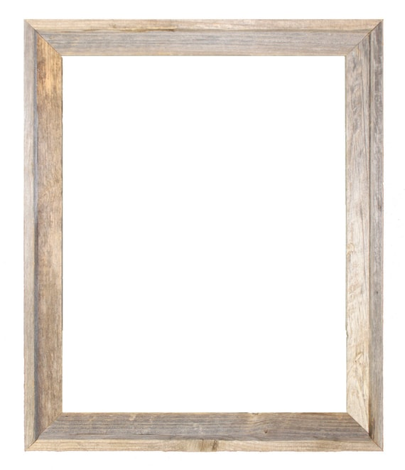 24x30 2 Wide Barnwood Reclaimed Wood Open Frame No Etsy