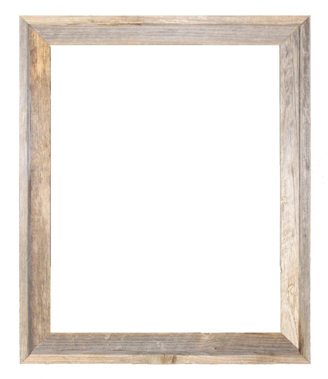 24x30 2 wide Barnwood Reclaimed Wood Open Frame No | Etsy