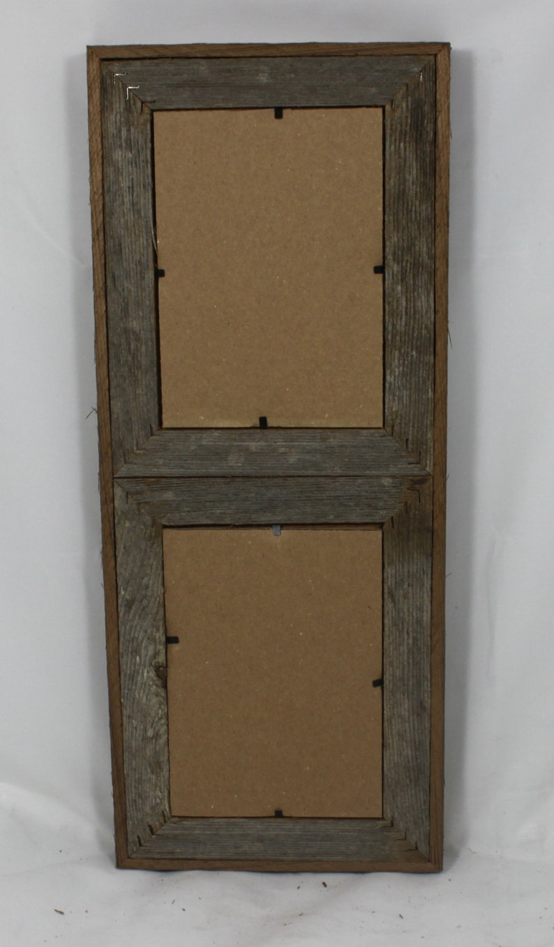5x7 2 Wide Rustic Barn Wood Vertical Double Opening Etsy
