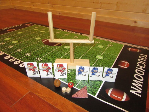 Tabletop Football Or Finger Football Game Taken To A Whole New Etsy