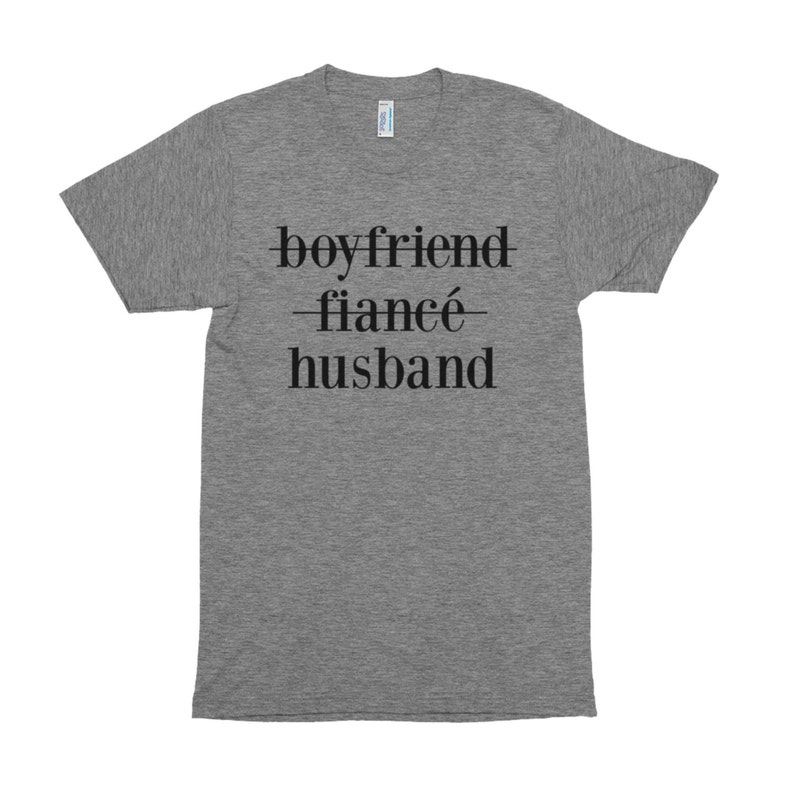 Boyfriend Fiancé Husband Shirt Husband Shirt-Wedding image 0