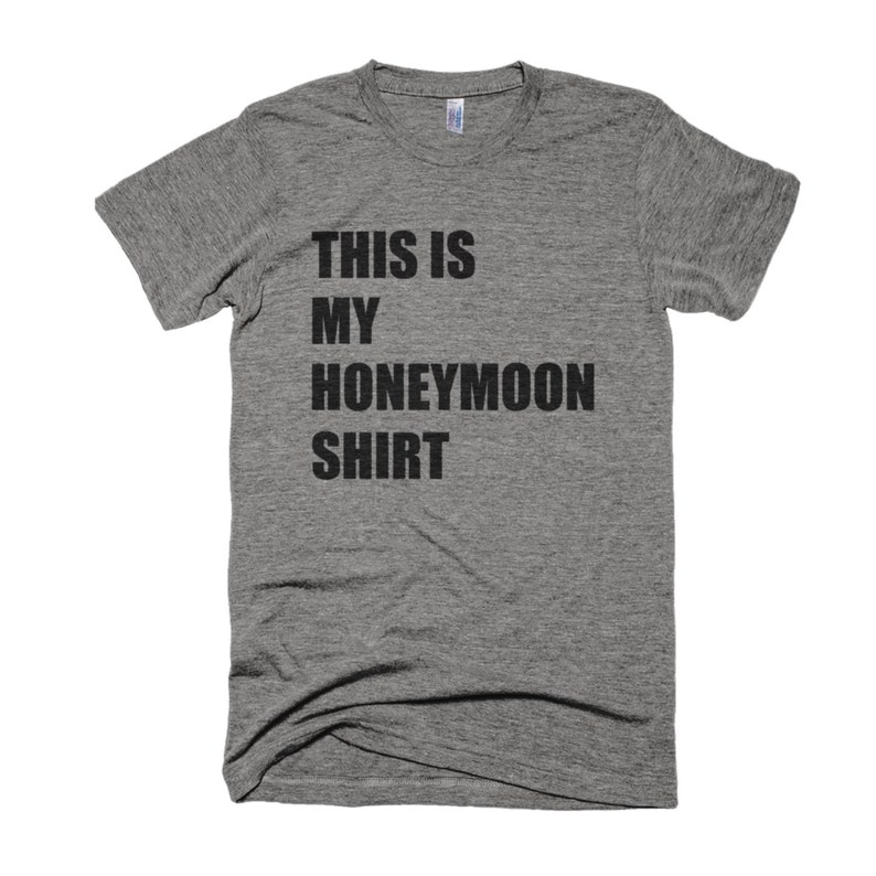 This Is My Honeymoon Shirt-Wedding Shirt-Honeymoon image 0