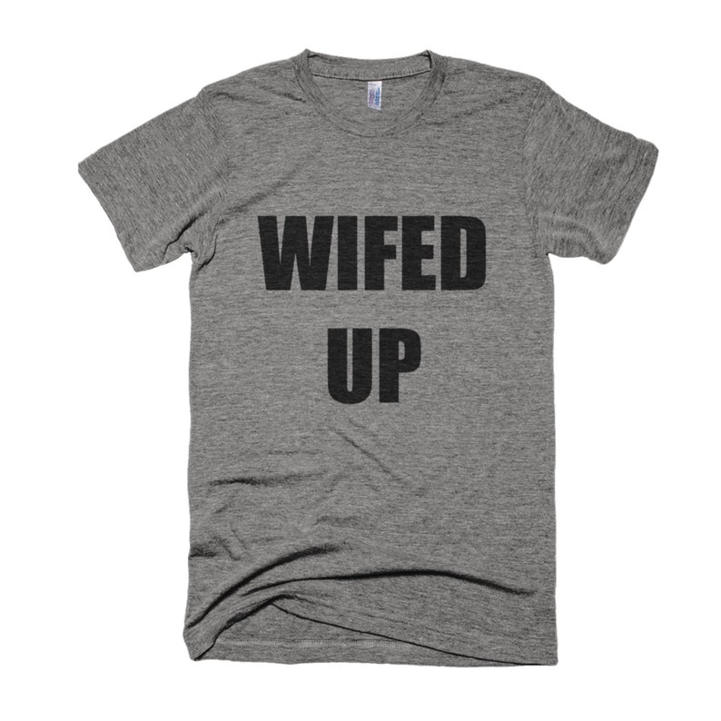 Wifed Up Shirt Wifey Shirt-Wedding Shirt-Honeymoon image 0