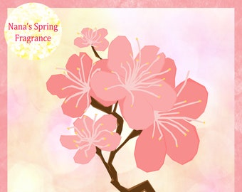Japanese Cherry Blossom Fragrance Oil BBW Type  Use For *DIY Candles * Soap * Diffuse * Perfume *