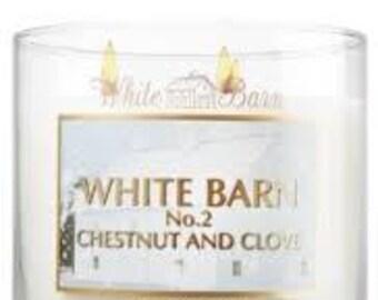Chestnut And Clove White Barn Type Fragrance Oil