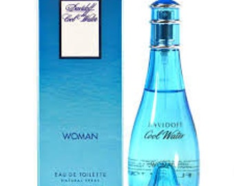 Cool Water Woman Type Designer Duplicate Premium Fragrance Oil  Available In Many Sizes
