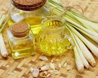 Lemongrass (Cymbopogon Flexuosus) Pure Essential Oil Therapeutic Grade  Invigorating Zesty Fresh
