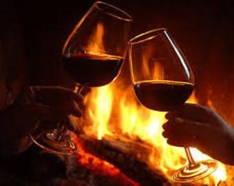 Fireside Premium Fragrance Oil Available In Several Sizes