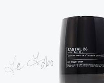 Santal 26 Lelabo New York Type Fragrance Oil Use To Make *Candles* Soap* Perfume* Diffuse