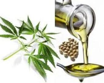Hemp Oil All Natural Melt & Pour Soap Base White  1 Pound
