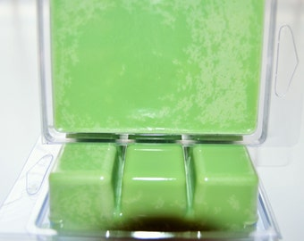 Basil Sage & Mint 100% Soy Wax Melts Wonderful Fragrance 6- Melts Per Pack Approximately 3 Ounces