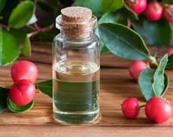Wintergreen (Gaulthjeria Procumbens) Pure Essential Oil  Available in 1/2 oz - 1 oz. - 2 oz - 4 oz  - 8 oz. - 16 oz. size Bottles