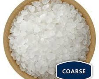 Dead Sea Salt Coarse or Fine Grain   10 Pounds
