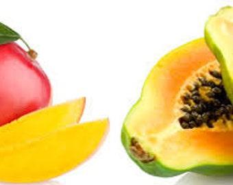 Papaya Mango Premium Fragrance Oil  Available In Several Sizes