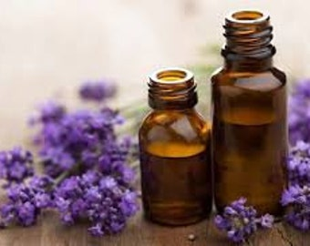 Lavender 40/42 Pure Essential Oil (Lavandula OfficinalisEssential) Oil Therapeutic Grade Calming Reassuring Soothing Relaxing Healing