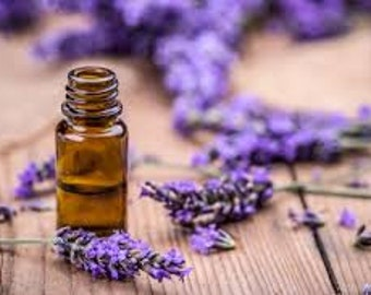 Lavender French Pure Essential Oil (Lavandula OfficinalisEssential) Oil Therapeutic Grade Calming Reassuring Soothing Relaxing Healing