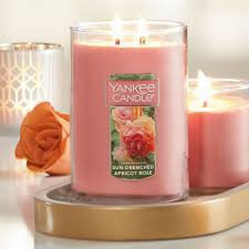 Sun Drenched Apricot Rose Yankee Type Fragrance Oil - Candles - Wax Melts -  Wax Tarts - Body Spray-Linen Spray-Massage Oil-Reed Diffuser Oil