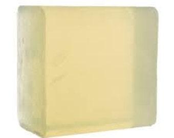 Aloe Vera Translucent Melt & Pour Soap Base   1 Pound