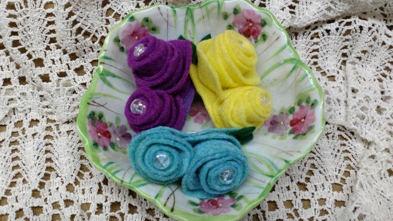 Ladies Gift Pink Yellow or Aqua Blue Spring Brooch Purple Ladies Gift Girls Gift Grandma Easter Gift! Easter Brooch Hostess Gift