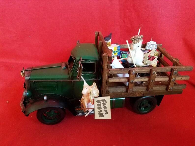 Taxidermy Mousemice Truck Farm Fresh Etsy