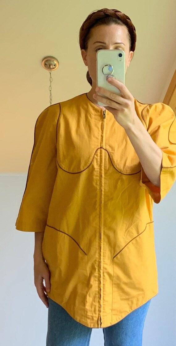 Vintage Thierry Mugler Mustard Jacket