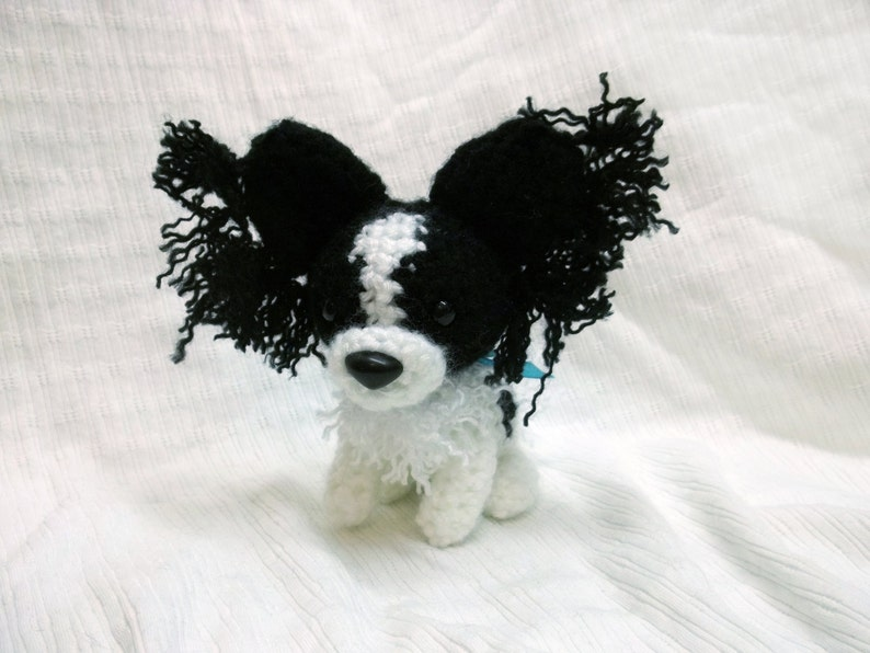 Ravelry: Papillon Puppy [3 Ways] pattern by Crochet at Teri's | 596x794