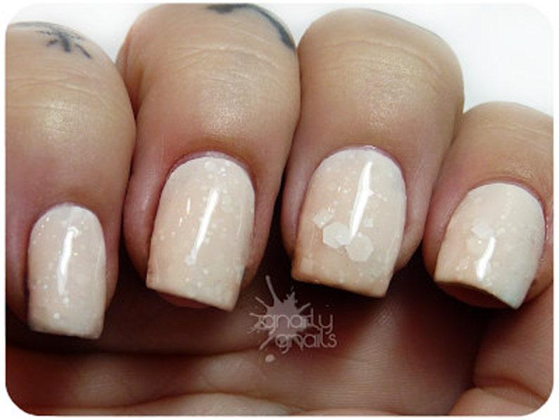 Frosted Speck. Glitter nail polish. 15 mL .5 oz | Etsy