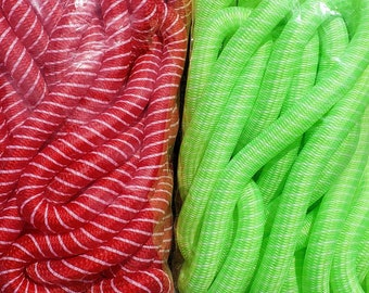 Soft Yarn Tubular Crin (Cyberlox) - Multiple Colors - for Hair Falls, Bows, Wreaths, Gift Wrapping