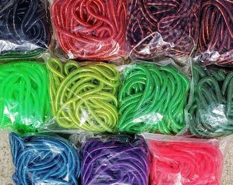 Mini Tubular Crin, Cyberlox, Crinoline - Multiple Colors - for Hair Falls, Bows, Wreaths, Gift Wrapping