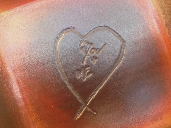 bc5d93b1d54e Leather Gift. Third Anniversary Gift Dark Distressed Leather