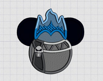 Hades Character Ears Embroidery Iron-on Patch
