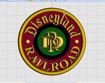 denver/& roaring fork RR CO new old stock vintage railroad patch 1970/'S
