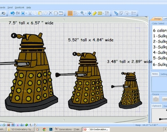 Digital File - Dalek - 3 sizes