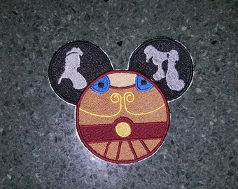 Embroidery Iron-on Patch - Hercules ears