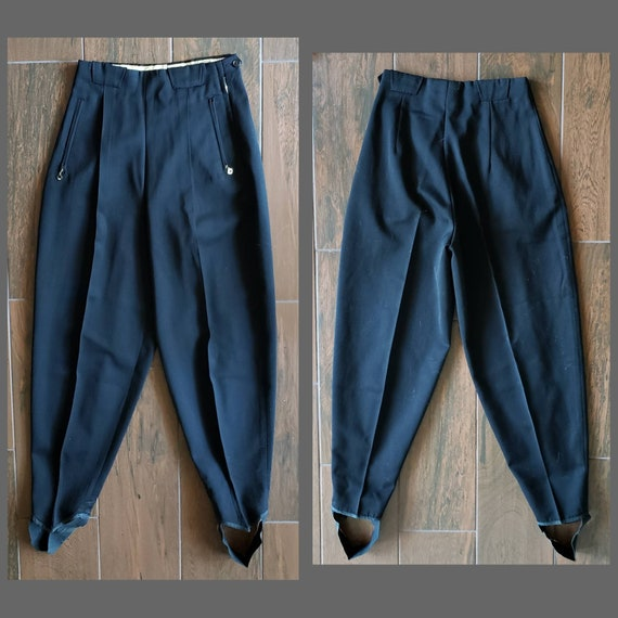 Later 40s to 50s womens ski pants by Dormer Werner