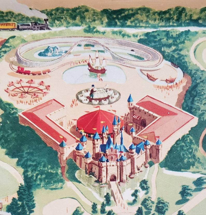1950s Disneyland metal serving tray.