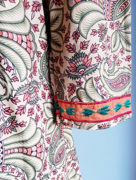 Vintage 1970s Punjabi suit/Salwar pants. Cotton p… - image 5